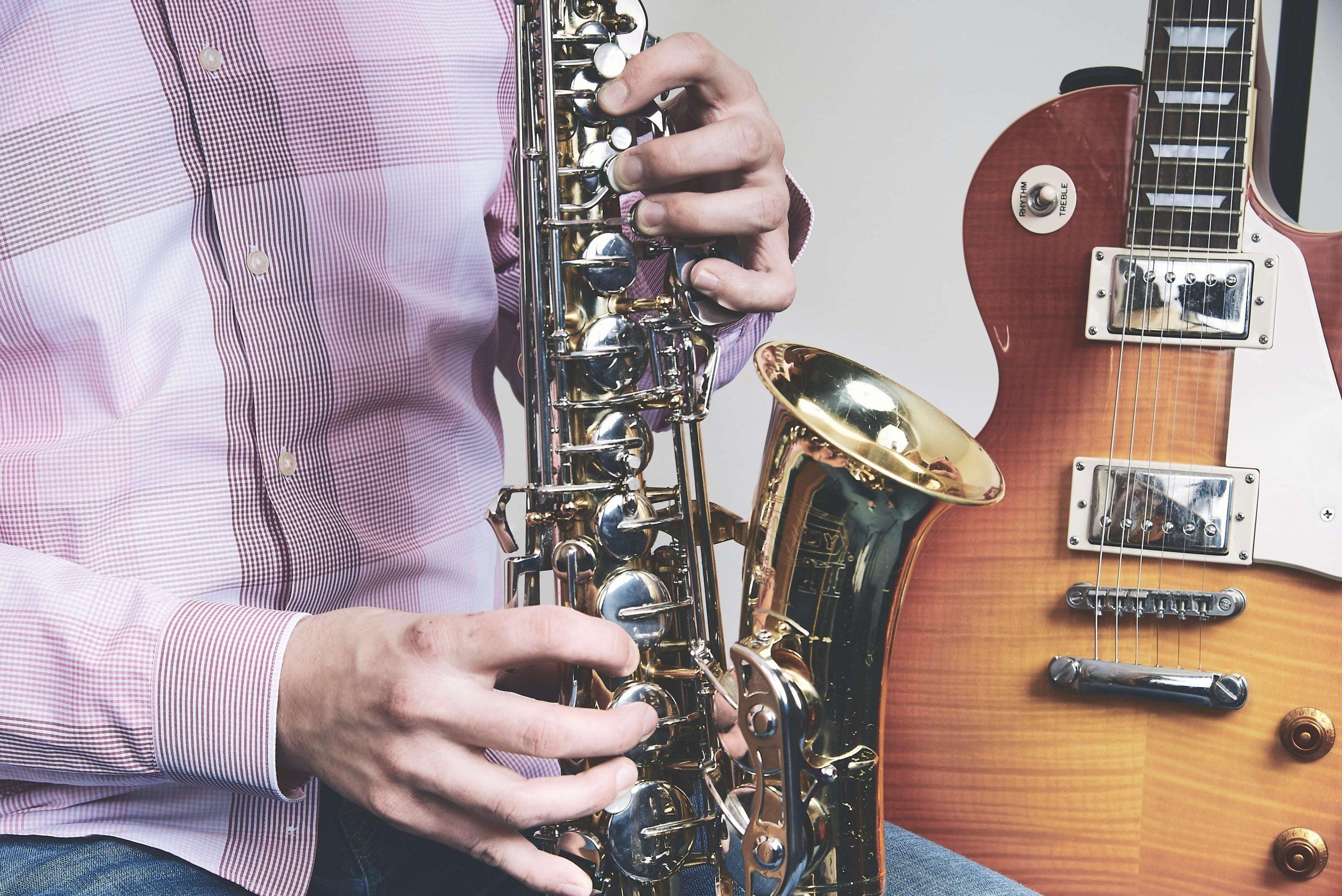 Playing Tenor Saxophone