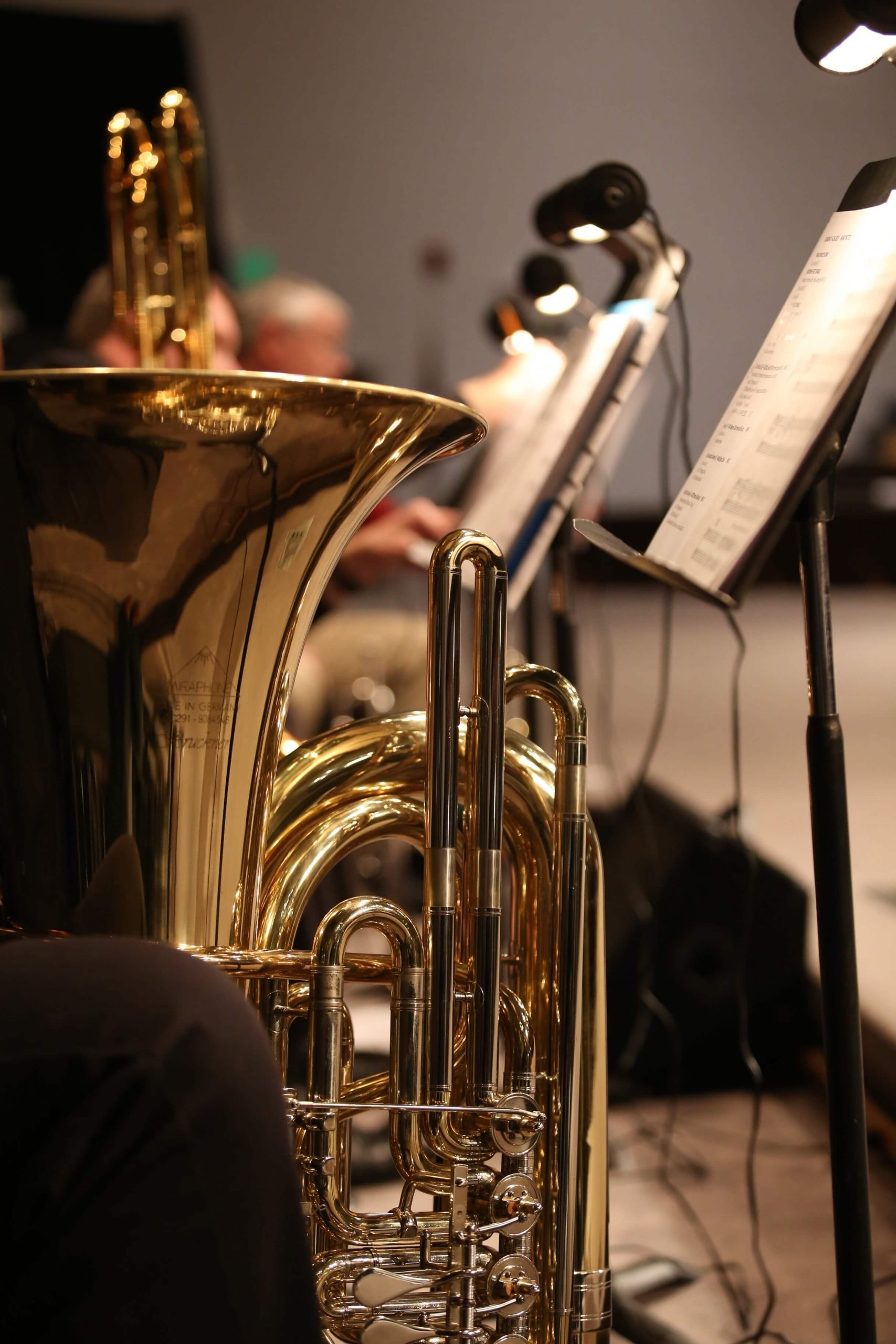 Playing Tuba Brass Lessons